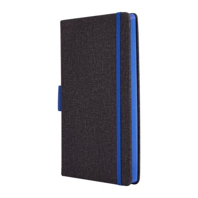 Clarke - Grey + Blue Notebook
