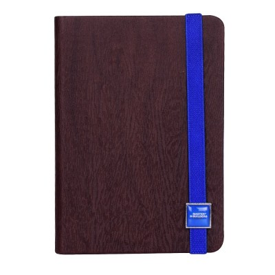 Express Slider - Brown Cover , Blue Band Notebook, Diary